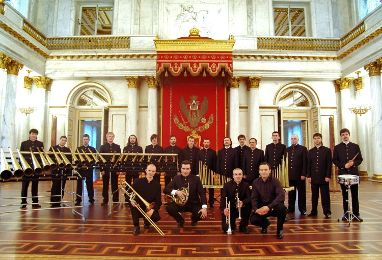 Rosyjska orkiestra rogów